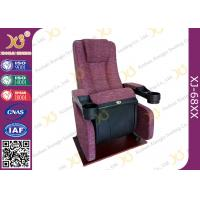 Quality An Ergonomic Comfortable Aircraft Type Headrest Cinema Theater Chair Folding Seat for sale
