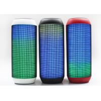 Quality Stereo Outdoor Light Up Bluetooth Speaker Mini Colorful 3 Watt 10 M Receive Range for sale