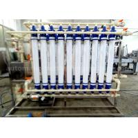 Quality Ultra Filtration Water Treatment Machine , Water Purification Systems For Filling Mineral Water for sale