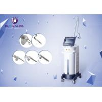 China Vertical Design Rf Co2 Fractional Laser Machine With Vaginal Tightening Function on sale