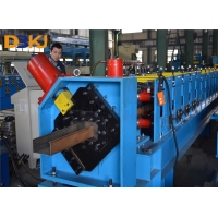 China Quick Adjustable 3mm 22kw C Channel Roll Forming Machine on sale