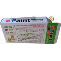 Quality Fancy Cardboard Office Paper Box , Multi Color Painting Marker Pen Packaging Box for sale