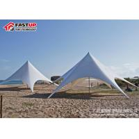 Quality 200 People Seater Star Shade Tent Rentals For Parties 16X22M Size Anti Water for sale