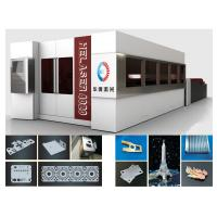 Quality Automatic Switching Fiber Laser Cutting Machine 24 Hours Continous Working Time for sale