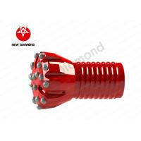 Buy cheap P96 Cemented carbide steel Top Hammer drilling tool Thread button drill bits from wholesalers