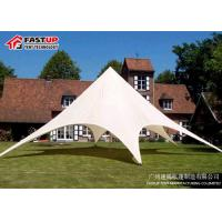 Quality Durable Star Shade Tent For Gatherings 150 People Seater Guest Long Life Span for sale