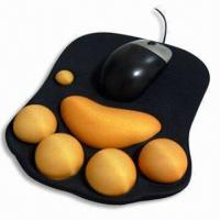 Quality Mouse Pad, Measuring 220 x 180 x 2mm, Made of Neoprene and Cloth for sale