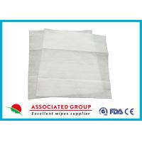 Buy cheap Rinse Free Bathing Wet Wipes Unscented Patient Cleansing Safe Touch from wholesalers