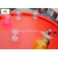 Quality Red Large Inflatable Swimming Pools For Adults Outside Commercial Activity for sale