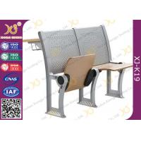 Quality Lecture Hall Attached College Classroom Furniture MultiLayer Folding Type for sale