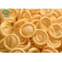 Quality Comfortable Powder Free Yellow Latex Esd Finger Cots For Electronics Factory for sale