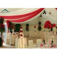 Quality Luxury Roof Linings / Curtains Large Wedding Tents For Outdoor Events for sale