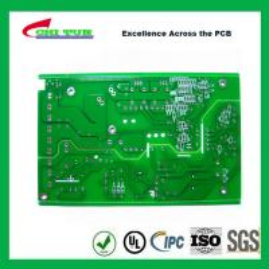 Quality FR4 1.6MM HASL Single Sided PCB Board Green Solder Mask PCB 1OZ for sale