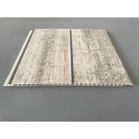 Quality Slab Decorative PVC Panels Transfer Printing Durable 7mm Thick As Ceilings for sale