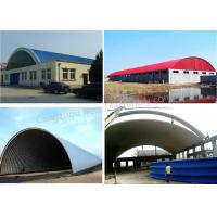 Quality Warehouse / Steel Structure K Span Roll Forming Machine , Arch Building Machine for sale
