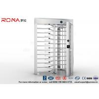 Quality High Security Turnstile Full Height Stainless Steel Access Control For Prison for sale