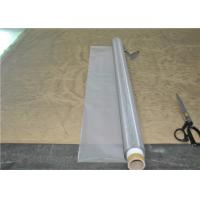 Quality Roll Plain Weave Ss304 Wire Mesh , Stainless Mesh Screen Used For Printing for sale