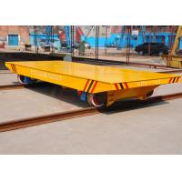 Quality AGV automatic steel rail mounted car moving equipment for parts handling for sale