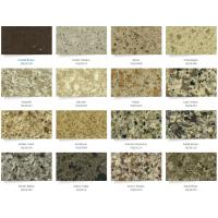 Quality Silestone Caesar Solid Stone Countertops Kitchen Cabinet 95 Up Polish Degree for sale