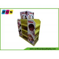 Quality Fully Color Printed Cardboard Pallet Display Unit For Stationery PA032 for sale