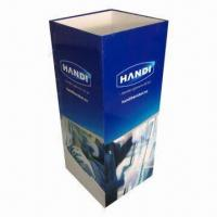 Quality POP Display Stand/Dump Bin/Floor Display Stand, Customized Sizes and Colors Accepted for sale
