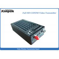 Buy Microwave HD Wireless Video Transmitter HDMI + SDI + CVBS 3 Ports for Body Worn Cameras at wholesale prices