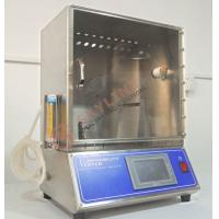Quality Flammability Tester for Toys Testing New Design Stainless testing room 45 degree toy Combustion rate tester for sale