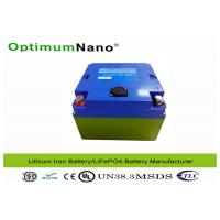 Quality 30Ah 12V Lithium Battery , CE SGS Electric Golf Trolley LithiumMetalBatteries for sale