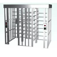 China Full Height Turnstile Security Card Reader Control Automatic Electric Operation on sale