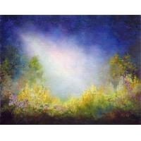 Quality landscape painting waterfall room decor for sale