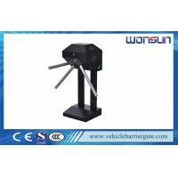 Buy Semi Automatic Mechanical Tripod Turnstile Barrier Gate For Supermarket at wholesale prices