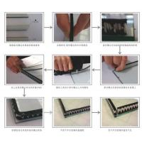 Buy cheap Sealing Triple Insulated Glass Warm Edge Spacer Super Grey And Black Desiccant Layer from wholesalers