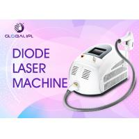 China 808nm Diode Laser Hair Removal Machine Portable Spot Size 13*13 / 13*39mm on sale