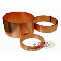 Quality Insulation Adhesive Alloys Of Copper Foil 1380mm Width 0.14mm Thickness for sale
