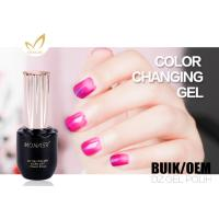 Quality Natural Mood Changing Uv Gel Color Changing Gel Nail Polish For Nail Art for sale