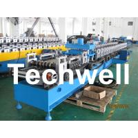 Quality 21KW 45# Steel Sigma Profile Roll Forming Machine With 16 Steps Forming Station for sale