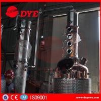 Quality 500gal Commercial Distilling Equipment Brandy Gin Vodka Alcohol Copper Whiskey Still for sale