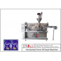 Quality Automatic Sachet Horizontal Form Fill Seal Machine 4 Sides Sealed For Powder Products for sale