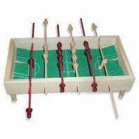 Quality Table Soccer/Toy for Above 3 Years Age, Made of Wood for sale