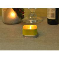 Quality 120ml Party Colored Tealight Votive Tin Containers For Candles for sale