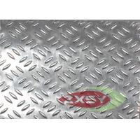 Quality Powder Coating Embossed Aluminium Checker Plate 1050 3003 5052 for sale