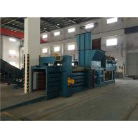 Quality Recycling Plastic Baling Machine With Touch Screen And Visible Windows for sale