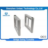Buy Swing Security Turnstile Gate Access Control System Automatic Pedestrian Entrance UT570-G at wholesale prices