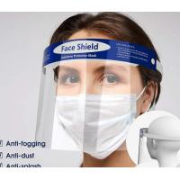 Quality Splash Proof Disposable Face Shield Non Toxic Tasteless With Elastic Band for sale