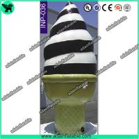 Quality Event Advertising Inflatable Icecream Cone/Promotion Icecream Replica Inflatable Model for sale