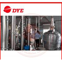 Quality Manual Still For Alcohol Making , Brandy Distillation Equipment for sale