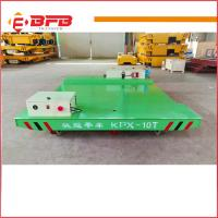 Quality Heavy duty electric Industrial Usage Motorized Transfer Cart china factory for sale