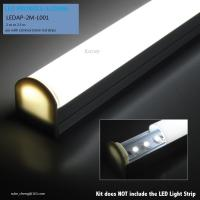 Buy aluminum led profile/sliding profile for strip at wholesale prices