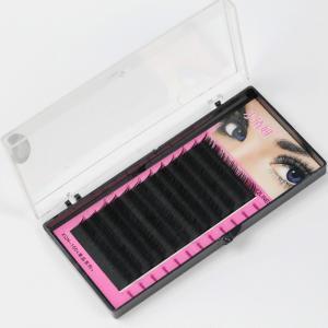 Buy cheap Black Full Set D Curl Eyelash Extensions , Individual Salon Eyelash Extensions from wholesalers