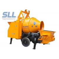 Buy cheap Remote Control Concrete Mixer Pump Small Cement Pump Large Capacity from wholesalers